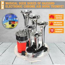 NEW Musical Dixie Dukes Of Hazzard Electronic Chrome Air Horn Trumpet