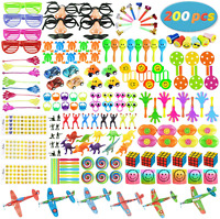 200 PCS Party Favors Toy Assortment for Kids,Carnival Prizes and School Classroo