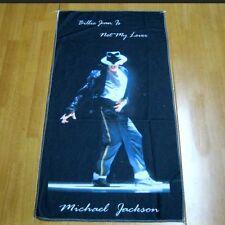 Michael Jackson Handtuch,kopfkissen Decke 75cm x 40cm für MJ Fans 0579