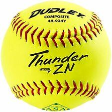 "Dudley 11"" Thunder Hycon Zn Asa Composite Slowpitch Softball (Single Ball)"