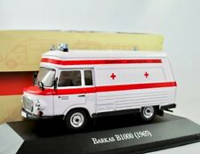 Barkas B1000 SMH-3 Ambulanz/Krankenwagen/DRK 1985   / Ambulance IXO/Atlas 1:43