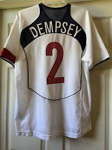 Nike USA US Soccer USMNT 2004/2005 Home Jersey Clint Dempsey #2 Size M