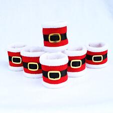 Christmas Napkin Rings Serviette Holder Party Banquet Dinner Table Decor