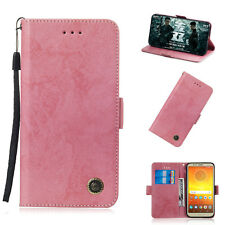 Book Folio Magnetic Wallet Case Phone Cover For LG Q7 Q8  Moto P30 Play Xiaomi