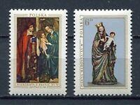 35914) Poland 1976 MNH Christmas 2v