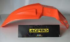 New ACERBIS Ktm Orange Front Fender Mudguard Supermoto Sx Exc Lc4 4t 640 Duke