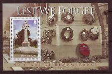 Isle of Man 2008,50 th anniversario della guerra mondiale LL, Unmounted MINT