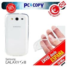 S490 Funda gel TPU flexible 100% transparente para SAMSUNG Galaxy S3 GT-i9300 SI