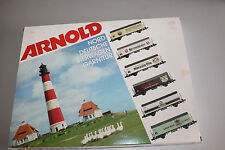 Arnold 0148 Set Norddeutsche Bierwagen-Garnitur 6-teilig Spur N OVP