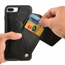 Apple iPhone 7 Plus Wallet Leather Case ID Credit Card Holder Protective Cover