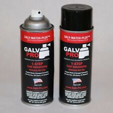 New listing Galv-Match-Plus Gmp-100 Cold Galvanized Spray Paint ,1 12 Oz Can.