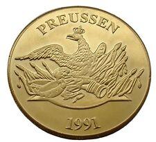 AA49 - Medaille BRD Farbe Immanuel Kant . Philosoph und vater der aufklärung