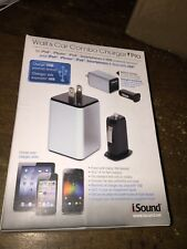 Genuine OEM iSound Wall & Car Combo Charger Pro for iPad, iPhone, Samsung Galaxy