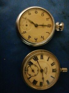 SERVICES ARMY FOREIGN POCKET WATCH +smiths pocket watch spares or repair
