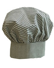 Poplin Chef Hat Adult Adjustable Baker Kitchen Cooking Chef Cap Mushroom hat New