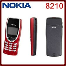 Nokia 8210 TELEFONO CELLULARE (Sbloccato) ROSSO NUOVA condizione