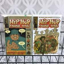 Hip Hop Family Tree 2 And 4 Lot Rappers Delight Fantagrahics