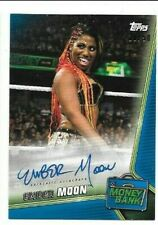 Ember Moon 2019 Topps WWE Money In The Bank AUTO 10/50