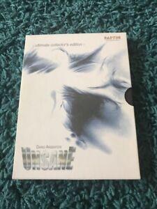 Unsane Aka Tenebrae DVD Boxset Rare Raptor Release Horror Gore Dario Argento