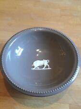 Wedgwood Norman Wilson Beaded Bowl Bull Relief C1960s