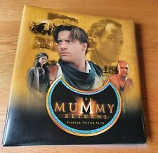 The Mummy Returns Binder with Base Set, Promo Cards, Sale Sheet and Chase Sets