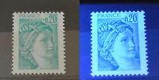 Variété sur n° 1967 neuf **. Sans phosphore. TB. Cote : 27 €.