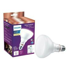 Philips Soft White BR30 LED 65-Watt Equiv. Smart Wi-Fi Wiz Connected Light Bulb