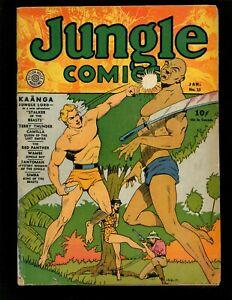 Jungle Comics #13 VG Tuska Ka'a'nga Wambi Captain Terry Thunder Camilla Fantomah