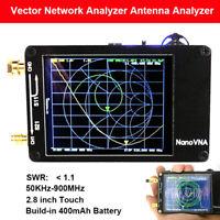 Nanovna 50KHz-900MHz Vector Network Analyzer VNA HF VHF UV UHF Antenna Analyzer