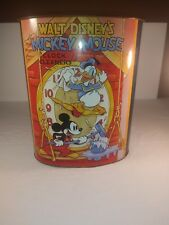 Rare Walt Disney's Mickey Mouse 'clock Cleaners' Thin Can Vintage