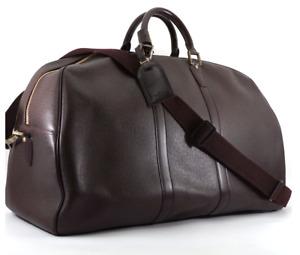 Louis Vuitton Kendall GM Acajou Travel Boston Bag Vintage (like Keepall)