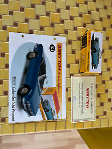 """coffret collector dinky toy atlas 2014""""cabriolet 504 peugeot"""" 1423 NEUF"""