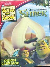 Lowe's Build & Grow Kit - Shrek's Onion Carriage - boys/girls - w/sticker (506)