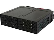 """ICY DOCK Full Metal 8 Bay 2.5"""" SATA HDD & SSD HotSwap Backplane Cage for 5."""