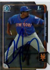 Corey Taylor New York Mets 2015 Bowman Chrome Rookie Signed Card