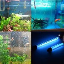 10W Aquarium UVC UV Sterilisator Lampe Tube Wasserreiniger Wasserklärer Glas PL
