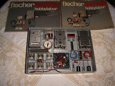 Fischertechnik Baukasten hobbylabor 1,*Elektronik* mit Buch, ca. 280 S.,