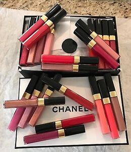 NIB Chanel Levres Scintillantes Glossimer Lip Gloss Choose Color