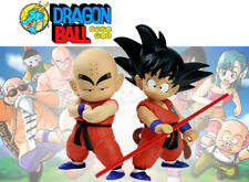 DRAGON BALL Z - SET 2 FIGURAS / SON GOKU & KRILIN / 2 FIGURES SET 18&22cm