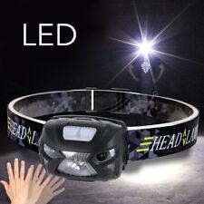 2018 CREE USB Rechargeable Sensor Head Torch Light LED Headlamp Headlight