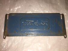 Vintage Original - Tonka Toys Pickup Truck Tailgate Blue