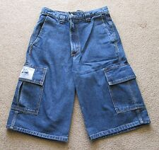 d2578c8075 SALE! New Men's Stonewashed Denim Cargo Shorts Size 28 waist