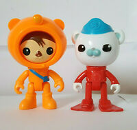 The Octonauts Figures Bundle Peso Captain Barnacles Toys CBEEBIES