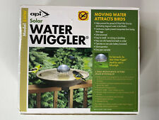 Allied Precision API 8WW Solar Bird Bath Water Wiggler Attracts Open Boxed