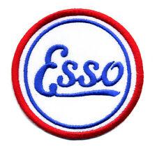 Esso patch badge motor oil can gasoline sales service nostalgia hot rod race