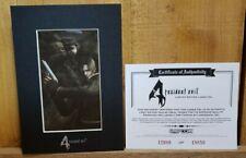 Resident Evil 4 Leon Kennedy Limited Edition #12980 of 18850 Laser Cel Pristine