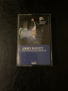 Jimmy Buffet One Particular Harbor Cassette Tape 1983 MCA Records
