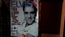 $ALE*  ELVIS THEN & NOW OFFICIAL GRACELAND 25TH ANNIV ED 2002 MAG& CD SINGLE VG+