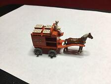 RARE VINTAGE 1954 MOKO LESNEY MATCHBOX #7-A HORSE DRAWN MILK FLOAT MW NM COND.
