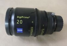 "CARL ZEISS DIGIPRIME 20 20mm T1.6 LENS B4 MOUNT - FOR DIGITAL CINE 2/3"" CAMERAS"